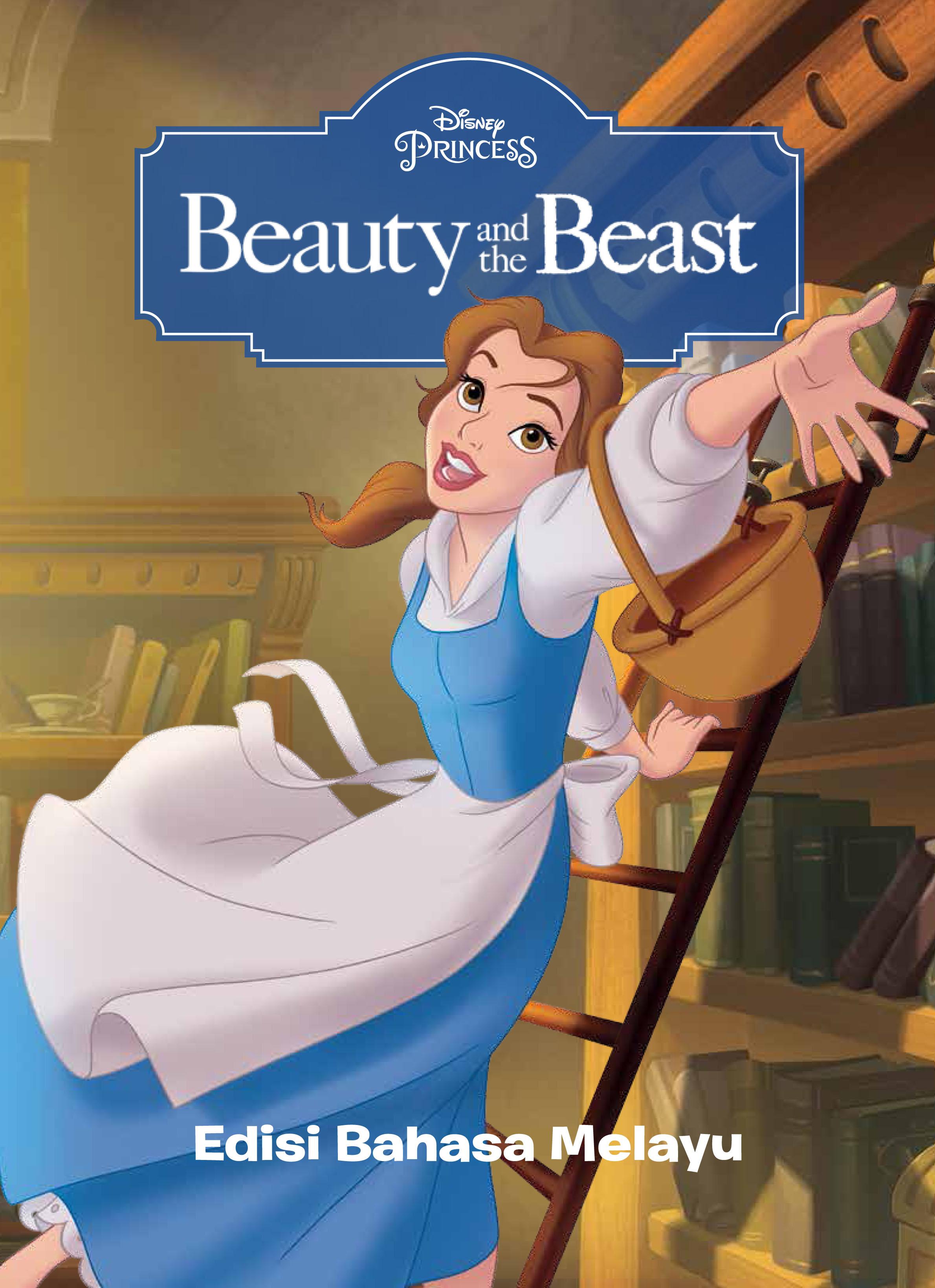 disney beauty and the beast buku cerita klasik padded